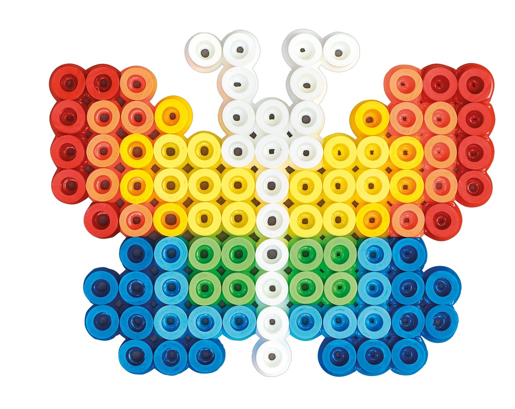 Cubo Maxi beads y placas/pegboards