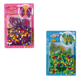 [8912] Surtido - Blister Maxi 250 beads y placa/pegboard