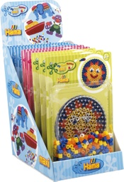 [8913] Expositor surtido -  Blister Maxi 250 beads y placa/pegboard