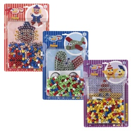 [8915] Surtido - Blister Maxi 250 beads y placa/pegboard